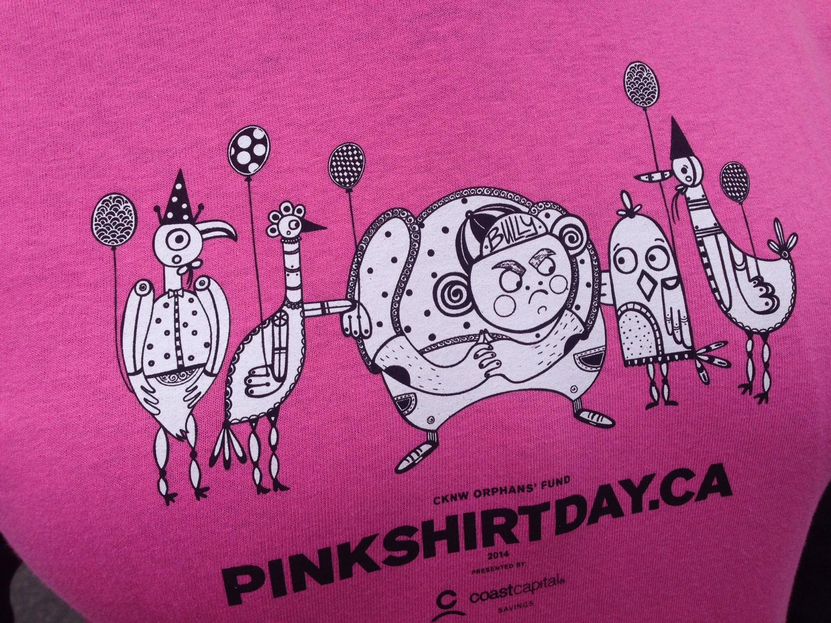 VGPN » Pink Shirt Day