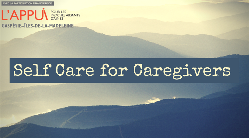 self care for caregivers pdf